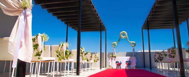 Boda en Ibiza en Migjorn Ibiza Suites and Spa